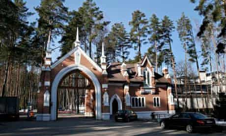 The Russian government sanatorium where Viktor Yanukovych was reportedly staying on Wednesday