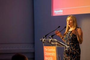 Guardian Uni Awards: Victoria Coren Mitchell