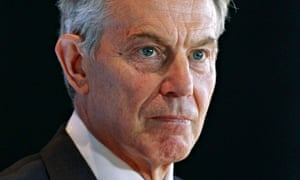 Quartet Representative and former British PM Blair takes part in news conference in Ottawa