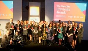 Guardian Uni Awards: Guardian University Awards 2014