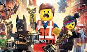 The Lego Movie … give them all Oscars.
