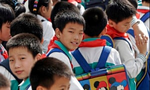 Shanghai school child