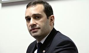 Irakli Alasania poses for the Guardian