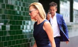 Sarah Murdoch and Lachlan Murdoch
