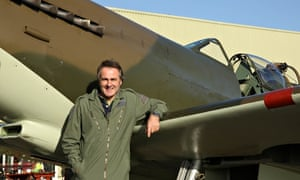 Paul Martin and Spitfire in I Never Knew That About Britain