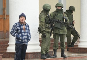 According to media reports Russian soldiers have occupied the airport at nearby Sevastapol in a move that is raising tensions between Russia and the new Kiev government. Crimea has a majority Russian population and pro-Russian men have occupied government buildings in Simferopol.