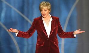 Oscar host Ellen DeGeneres