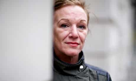 Carole Duggan, aunt of Mark Duggan