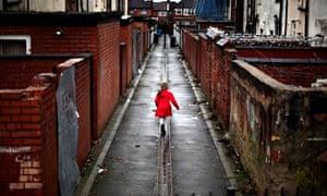 Manchester back alleys