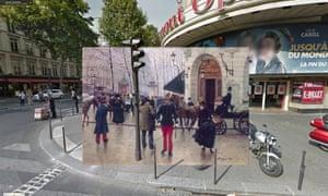 Paris - Le boulevard des Capucines devant le théâtre du Vaudeville 1889 Jean Beraud
