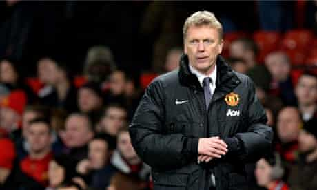 David Moyes' Manchester United are 11pts from a Champions League place