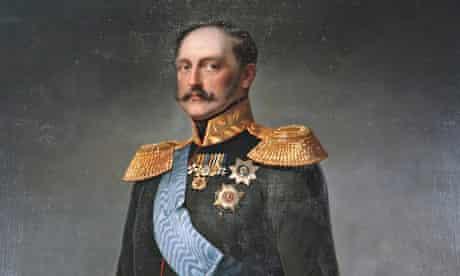 'Portrait of Emperor Nicholas I', mid 19th century.