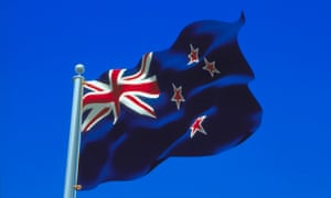 The current New Zealand flag