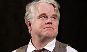 Philip Seymour Hoffman played Willy Loman in Death of a Salesman in New York in 2012