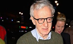 Woody Allen in New York on 1 February