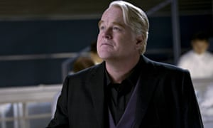 Philip Seymour Hoffman as Plutarch Heavensbee in The Hunger Games: Catching Fire