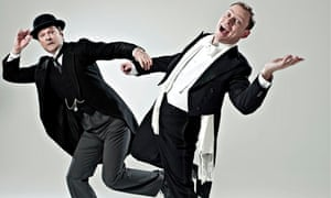 Mark Heap and Robert Webb as Jeeves and Wooster in Perfect Nonsense
