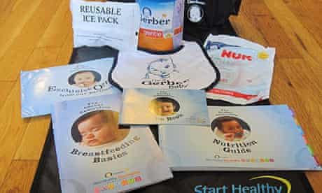 Baby formula promotion pack