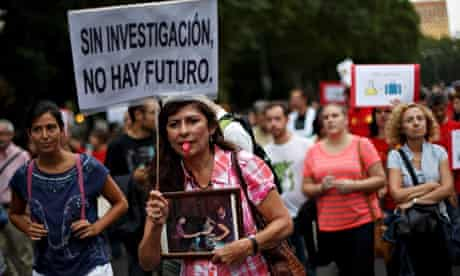 Young Scientists Protest In Madrid Against Cutback In R&D In Sciences