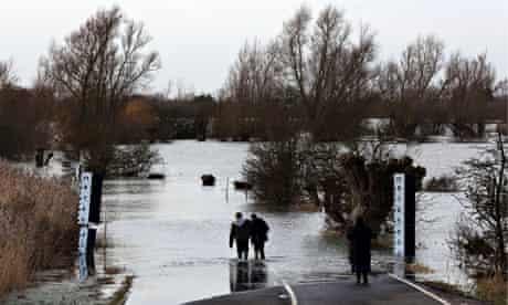 Flooding in Cambridgeshire