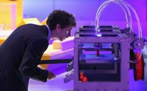 Extreme tech: 3d printer