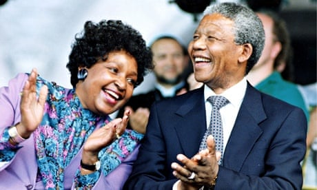Winnie And Nelson Mandela Children