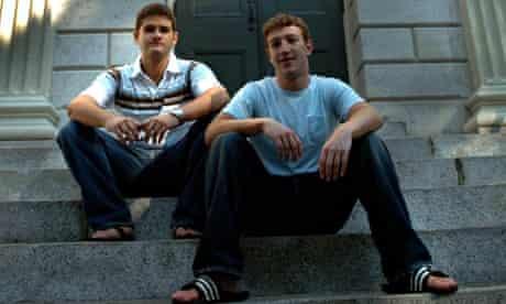 Mark Zuckerberg and Dustin Moskovitz