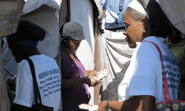 Activists in Haiti