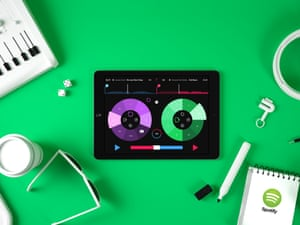 Pacemaker launches iPad DJ app using Spotify as its music source