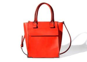 1f6c5ff3c9ea 20 affordable handbags  Affordable handbags - bright red structured shopper  by zara