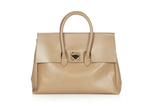 32da80a55e14 20 affordable handbags  Affordable handbags - oversized camel colour leather  bag by Topshop