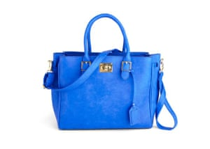 d95e2f126235 20 affordable handbags  Affordable handbags - blue faux leather big bag by  ModCloth