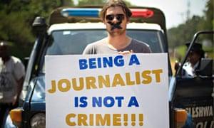 Kenya protest against Egypt jailing of Al-Jazeera journalist