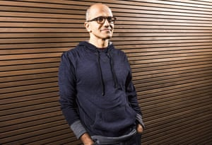 This handout image provided by Microsoft on February 4, 2014 shows the new CEO Satya Nadella.