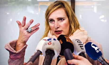 Dutch journalist Rena Netjes