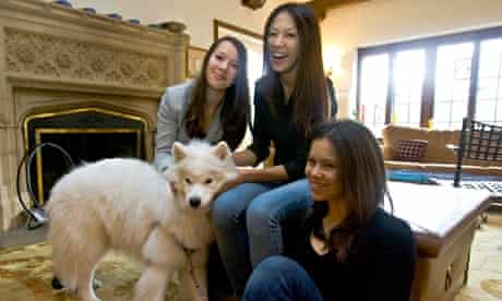 Amy Chua and daughters