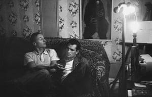 William Burroughs: William S. Burroughs and Jack Kerouac on sofa