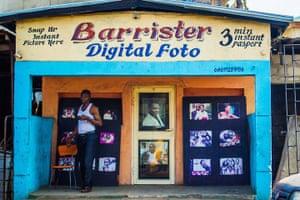 Lagos, Nigeria: Digital Foto Studio, Lagos Nigeria