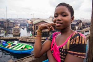 Lagos, Nigeria: Makoko is a slum neighborhood in Lagos