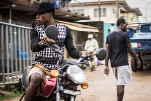 Lagos, Nigeria: 'Okada' riders are aggressive and unforgiving