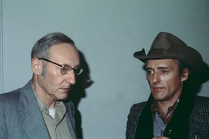 William Burroughs: Burroughs with Dennis Hopper at The Bunker, on the Lower East Side of Manha