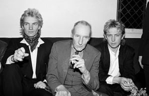 William Burroughs: Sting, Andy Summers and William Burroughs
