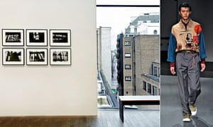 Installation image of David Lynch's the Factory Photography at The Photographers' Gallery, 2014
