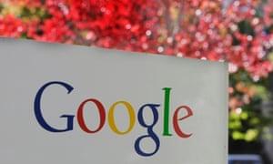 Google's HQ in California.