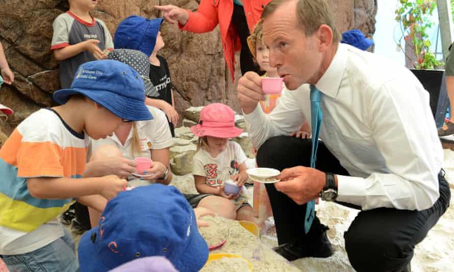tony abbott childcare