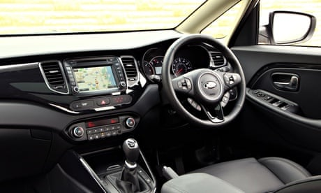 Kia Carens car review  Martin Love  Technology  The Guardian