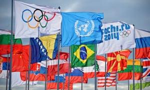 Sochi flags