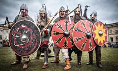 vikings on battlefield