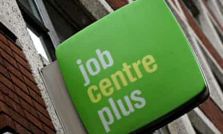 Job Centre Plus offices in Derby city centre