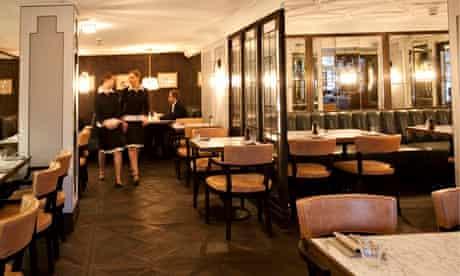 Lanes of London restaurant